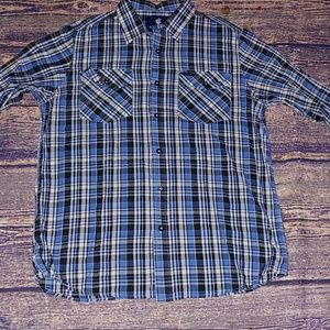Rocawear long sleeve button down size XL